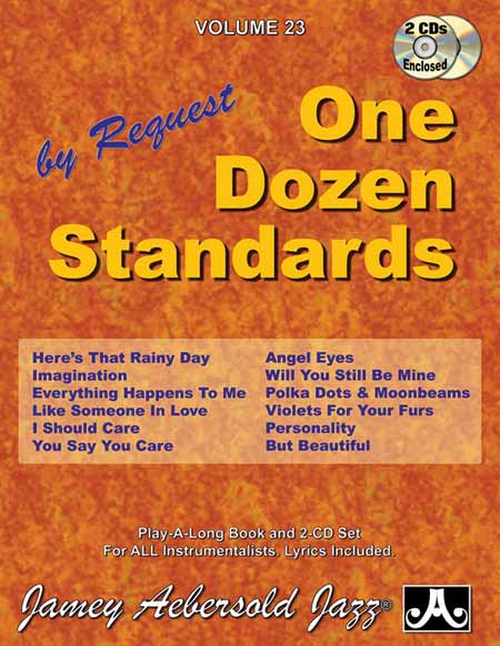 Giant steps standards in all keys jamey aebersold vol 68 na one dozen standards jamey aebersold vol 23 stopboris Image collections