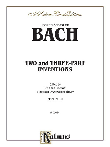 Two-Part Inventions: For Piano (Kalmus Edition)