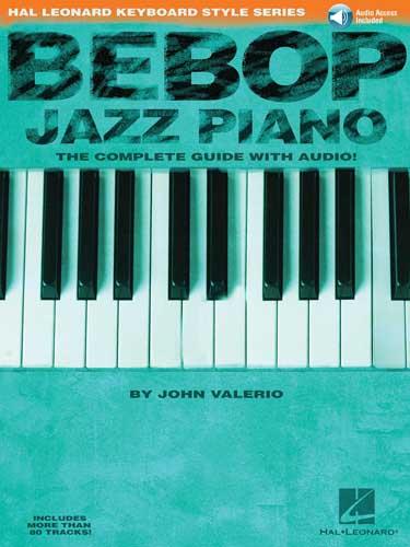 Bebop jazz piano john valerio na freenote keyboard style series fandeluxe Images