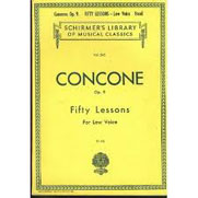 concone fifty lessons low voice pdf